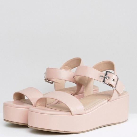 7c1e6338e3a ASOS Toucan Wedge Sandals